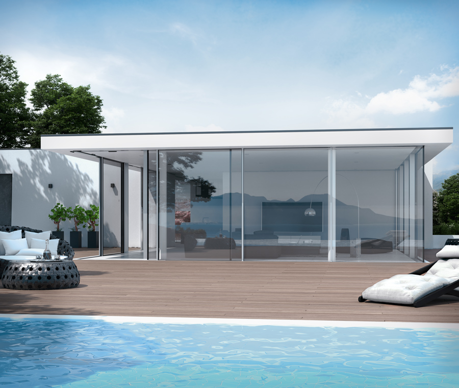 Ultra Slim Lift & Slide Doors
