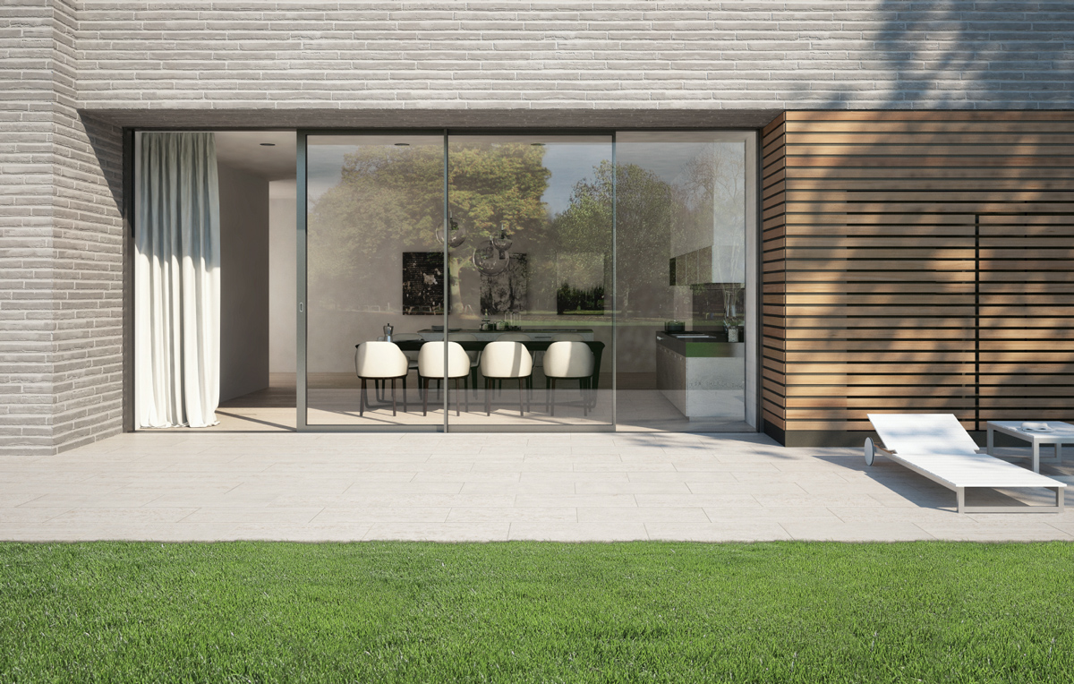 Extra Large Lift and Slide Doors